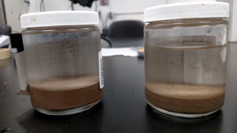 Sediment sample jars